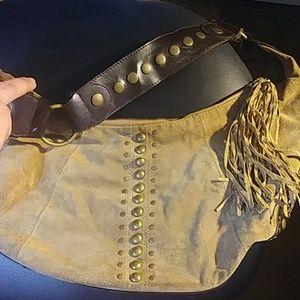 🔥 Genuine Leather & Suede Purse 🔥